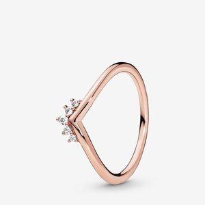 Pandora Tiara Wishbone Ring